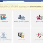 page de migration d'un profil vers une page facebook