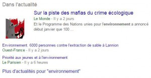 Article formation SERP actualites