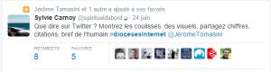 Sylvie Carnoy tweet journée diocèses internet